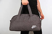 Спортивная сумка Nike  2017 ( ткань темно серая )
