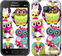 "Чехол на Samsung Galaxy J1 J100H Совы ""1805c-104"""