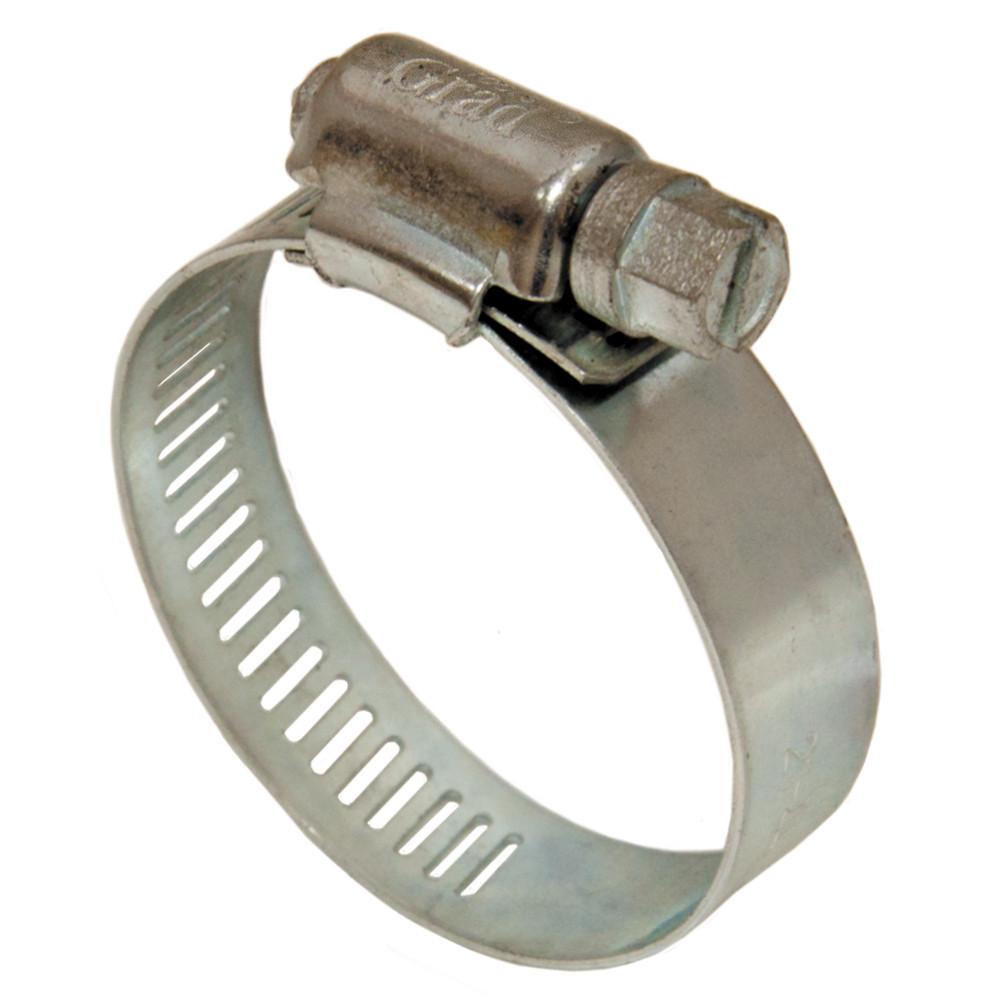 Хомут черв'ячний оцинкований Grad 12.7 мм D27-51 мм 10 шт