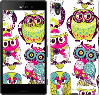 "Чехол на Sony Xperia XA Ultra Dual F3212 Совы ""1805c-391"""