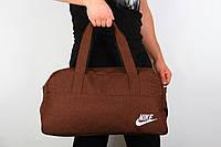 Спортивная сумка Nike  2017 ( ткань -коричневая )