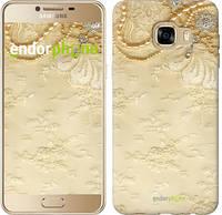 """Чехол на Samsung Galaxy C5 C5000 Кружевной орнамент """"2160u-301"""""""