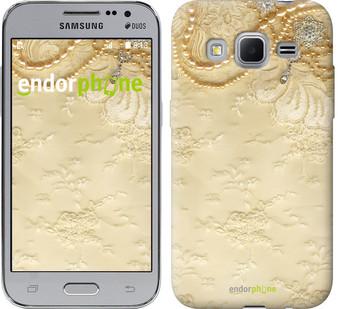 "Чехол на Samsung Galaxy Core Prime VE G361H Кружевной орнамент ""2160c-211"""