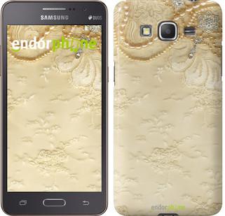 "Чехол на Samsung Galaxy Grand Prime VE G531H Кружевной орнамент ""2160c-212"""