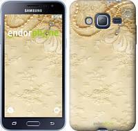 "Чехол на Samsung Galaxy J3 Duos (2016) J320H Кружевной орнамент ""2160c-265"""