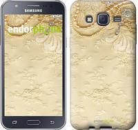 "Чехол на Samsung Galaxy J5 J500H Кружевной орнамент ""2160c-100"""