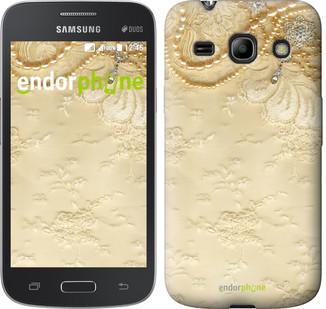 "Чехол на Samsung Galaxy Star Advance G350E Кружевной орнамент ""2160u-210"""