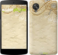 "Чехол на LG X Power K220DS Кружевной орнамент ""2160c-398"""