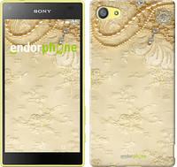 """Чехол на Sony Xperia Z5 Compact E5823 Кружевной орнамент """"2160u-322"""""""