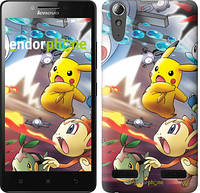 "Чехол на Lenovo A6000 Покемоны pokemon go v2 ""3771c-103"""