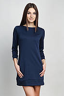 Туника синяя с карманами П151, фото 1