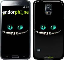 "Чехол на Samsung Galaxy S5 Duos SM G900FD Чеширский кот ""689c-62"""