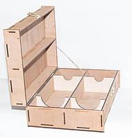 Коробка для двух бутылки вина