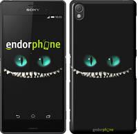 """Чохол на Sony Xperia Z3 D6603 Чеширський кіт """"689c-58"""""""