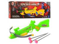 Арбалет Spider-man, стрелы-присоски, 555E