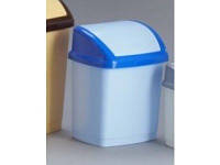 """Ведро для мусора """"Домик"""" 5л (голубое), GR-02035 гол"""