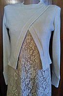 Подростковое платье Гипюр с болеро