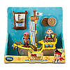 Игровой набор корабль с фигурками Иззи и Кабби. Джейк и пираты.