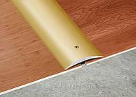 Гладкий профиль 40х5 мм (2.7м) анодированный.