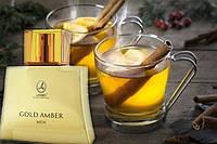 Gold amber man - мужская парфюмированная вода Ламбре - 75мл