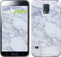 "Чехол на Samsung Galaxy S5 Duos SM G900FD Голубой мрамор ""3062c-62"""