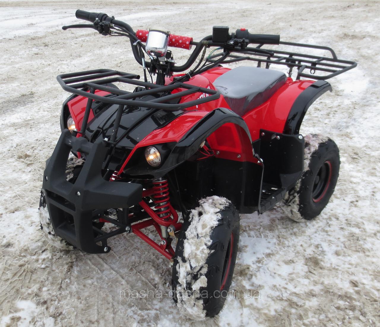 Детский Квадроцикл 800D красный