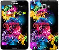 """Чехол на Samsung Galaxy Note i9220 Абстрактные цветы """"511u-316"""""""