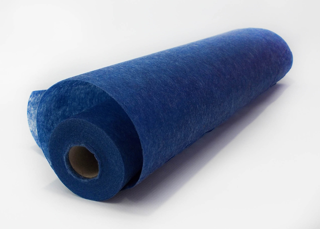 Флизелин однотонный синий