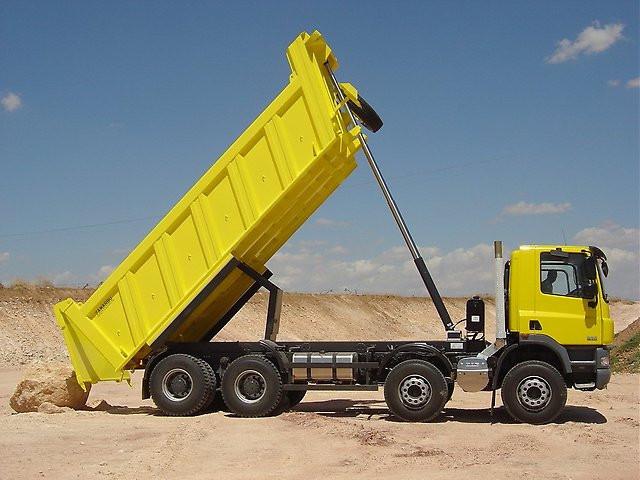 Переобладнання вантажівки у самоскид