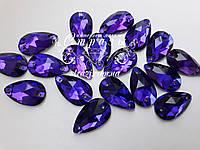 Стразы Lux Капля 10х18мм. Purple Velvet