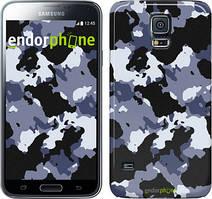 "Чехол на Samsung Galaxy S5 Duos SM G900FD Камуфляж v4 ""1182c-62"""