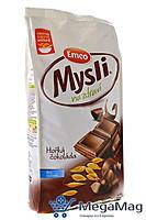 Мюсли хрустящие с горячим шоколадом  Emko Чехия 750г
