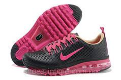Кроссовки женские Nike air max 2013 черно-розовые