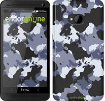 "Чохол на HTC One M7 Камуфляж v4 ""1182c-36"""
