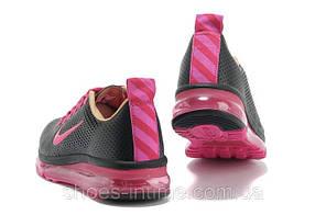 Кроссовки женские Nike air max 2013 черно-розовые, фото 2