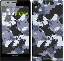 """Чохол на Huawei Ascend P6 Камуфляж v4 """"1182c-39"""""""