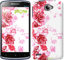 """Чохол на Lenovo S920 Намальовані троянди """"724c-53"""""""