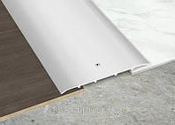 Рифленный профиль 100х3 мм (2.7м) отверстия посредине.