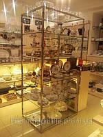 Торговый стеллаж, торговая мебель, изготовление торговой мебели, выставочная мебель, фото 1