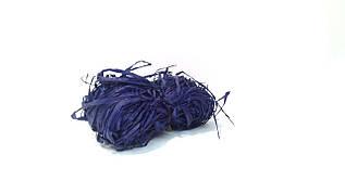 Рафия натуральная синяя флористическая