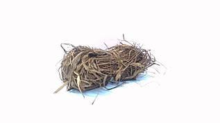 Рафия натуральная коричневая