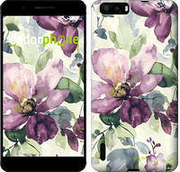 "Чехол на Huawei Ascend G6 Цветы акварелью ""2237u-367"""