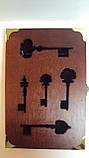 Ключница настенная деревянная «Ключи от волшебного замка» размер 30*20*5, фото 4