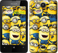 "Чехол на Microsoft Lumia 430 Миньоны 8 ""860u-153"""