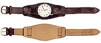 Кожаный ремешок для часов напульсник 18 мм