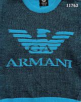 Кофта Armani для мальчика. 110-116;116-122; 134-140 см