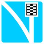 Дорожные знаки Информационно-указательные знаки Полоса движения для аварийной остановки 5.25