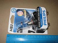 Лампа накаливания HВ3 WhiteVision 12V 55W P20d (+60) (4300K)  1шт. blister (пр-во Philips) 9005WHVB1