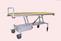 Тележка для транспортировки пациентов с регулировкой высоты, электроприводом и автономным питанием Т