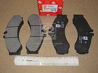 Колодка торм. диск. MB SPRINTER, LT28-46 96-06 передн.  DK.0044201520